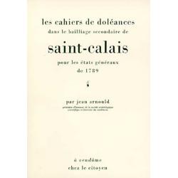 Les cahiers de doléances dans le bailliage secondaire de Saint-Calais pour les États Généraux de 1789
