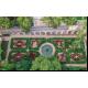 Du haut du ciel, se révèle la majesté du parterre, jardins et rampe en pente douce © Pierre Lafond/Drone Effect 2018